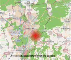 Erneut kleines #Erdbeben in Südhessen