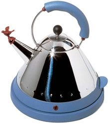 Alessi water boiler - have this and use it every day ... little design touches in daily life