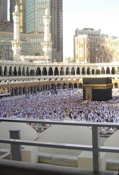 Mecca after the Salah prayer of Eid Al-fiter 2010