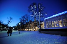 Talvista Helsinkiä joulukuu 2009-tammikuu 2010.Kuva:Kimmo Brandt