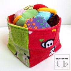 a box for toys - handmade :)