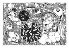 Ink imagination - Circled circles