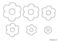 Sagome fiore 6 petali