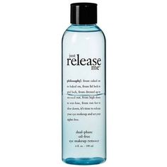 Philosophy 'Just Release Me' Eye Makeup Remover (28 AUD) ❤ liked on Polyvore featuring beauty products, skincare, face care, makeup remover, nude, oil free eye makeup remover, eye makeup remover and oil free makeup remover