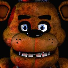 GIF, imagen movediza, FREDDY, Five Nights At Freddy's!
