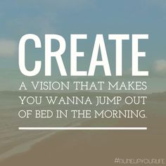#goodmorning #vision ☀️  For more motivation & inspiration follow DUNE UP YOUR LIFE