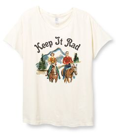 'The K-I-R' Relaxed Tee - Vintage White - Indy Brand
