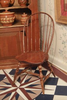 Edward G Norton - Windsor Bow Back Chair; sold on ebay for $177.75