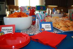 more ideas for big birthday party