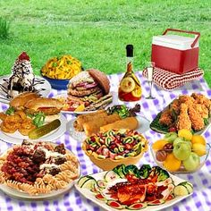 Yummy picnic food!!