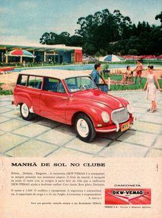 Publicidades antigas de carros: DKW Vemaguet