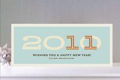 cute new years card...