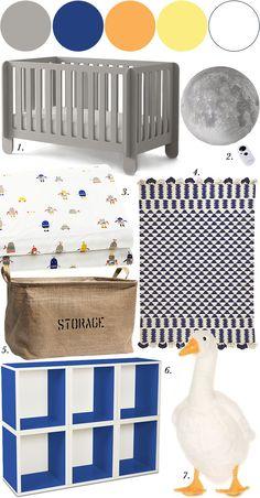 Nursery Mood Board, Spearmintbaby.com
