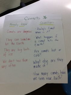 K-W chart for non fiction topic