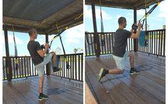 מכרע TRX ללא מגע לאחור + ברך לחזה לאלו מכם המחפשים תרגילי TRX לרגליים לרמת מתקדמים, מומלץ לנסות  את תרגיל המכרעים על ידי ביצוע מכרע לאחור על רגל אחת. http://trxtraining.co.il/legs/