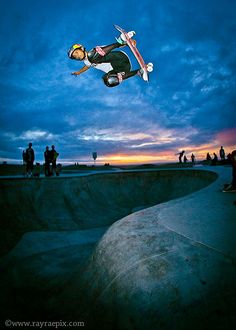 #Venice Skatepark Picture by Ray Rae #SIliconBeach