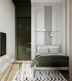 Modern classic interior apartment in Moscow on Behance Condo Interior Design, Vintage Interior Design, Apartment Interior, Furniture Design, Modern Classic Interior, Aesthetic Bedroom, Minimalist Home, Bed Design, Moscow