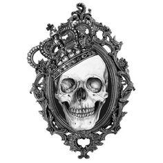 Skull With Crown n Dices Tattoo Design   Fresh 2016 Tattoos Ideas