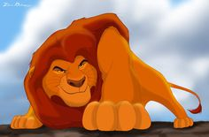 *MUFASA ~ The Lion King, 1994...Stay low to the ground by ~isuru077 on deviantART