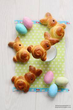 La tana del coniglio: Coniglietti di Brioche per Pasqua