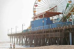 Santa Monica Pier is just minutes away from Los Angeles and a historical pier with things for everyone in the family to enjoy.