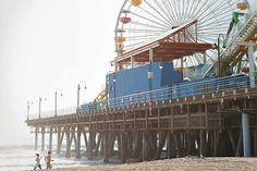 Santa Monica Beach California lifestyle