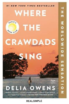 30 Great Books and Novels to Suit Any Mood or Interest | Kya grows up wild and nearly alone along the North Carolina shores, where the natural world becomes her classroom and her great love. (It may just encourage you to go outside and commune with yourself and your nearest stretch of wilderness.) #realsimple #bookrecomendations #thingstodo #bookstoread Books You Should Read, Books To Read, Book Club Books, New Books, Book Clubs, North Carolina Coast, Find Friends, 1 News, First Novel