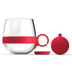 Tea Ball Red Set Of 2, $22, now featured on Fab.
