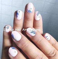 Girls like to decorate their nails, so if you want to find some new nail designs this season, look at the 15 Beautiful Spring Nail Arts That You Should Copy. It's time to find those bright and happy colors. The idea of spring nails is colorful and Spring Nail Art, Nail Designs Spring, Spring Nails, Summer Nails, Nail Art Designs, Nails Design, Diy Nails, Cute Nails, Pretty Nails