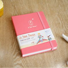 Weekly Planner, Undated Diary Journal Organizer, Hard Cover, Le Petite Prince [Simple Rose] by 7321