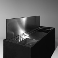 Hidden Kitchen, Mini Kitchen, Kitchen Interior, Kitchen Design, Reception Counter, Fine Furniture, Metallica, Decorative Boxes, Architecture