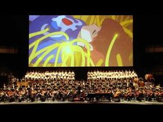 ▶ 1. Nausicaa of the Valley of the Wind - YouTube Full orchestra playing songs from the movie. Gorgeous.