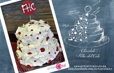 a Fun red and white Polka Dot chocolate cake the perfect cake to bring excitement to any occasion Polka Dot Cakes, Polka Dots, Chocolate Cake, Cake Ideas, Red And White, Wedding Cakes, Desserts, Chicolate Cake, Wedding Gown Cakes