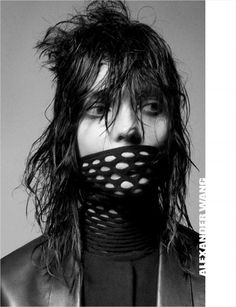 Kati Nescher by David Sims for #AlexanderWang Fall Winter 2012