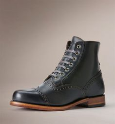 Ultimate STyle Cap Toe Brogue boots frye arkansas