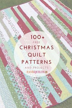 this list of christmas quilts projects has everything you need for the season including christmas quilt stockings tree skirts table runners ornaments