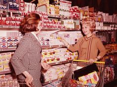 Grocery shopping, circa 1970   When I was a child, all our canned food came from dented cans. I know that sounds strange, not to mention dangerous, but that was how my father shopped.