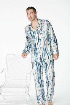 ecab53a1ff Bedhead Men s Indigo Classic Stretch Pajama Set