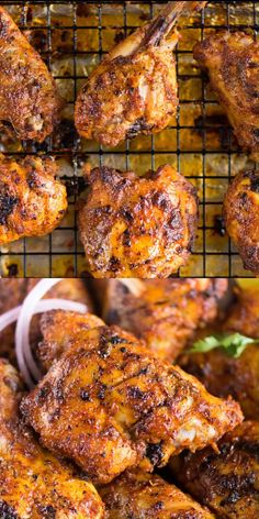 Indian Chicken Recipes, Oven Chicken Recipes, Indian Food Recipes, Cooking Recipes, Tandoori Chicken Recipe In Oven, Indian Chicken Marinade, Tandoori Chicken Curry, Authentic Tandoori Chicken Recipe, Tandoori Chicken Marinade