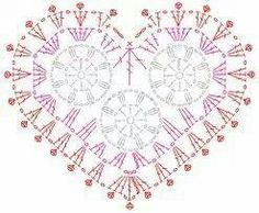 Corazón portavasos esquema