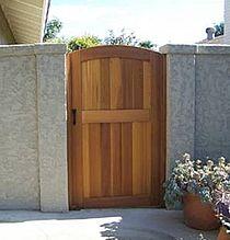 Pacific Gate Works - Custom Cedar Entrance Gates
