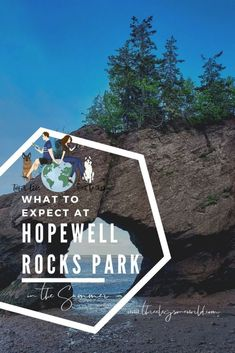 You don't want to miss Hopewell Rocks Park but here are a few things to expect during a summer visit. East Coast Canada, Hopewell Rocks, Mother Daughter Trip, High Tide, New Brunswick, Weekend Trips, Geology, Kayaking, Vacations