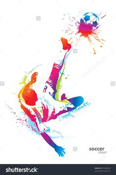 Find Soccer Player Kicks Ball Vector Illustration stock images in HD and millions of other royalty-free stock photos, illustrations and vectors in the Shutterstock collection. Soccer Art, Soccer Poster, Football Art, Soccer Theme, Man Clipart, Football Wallpaper, Sports Art, Sports Decor, Football Players