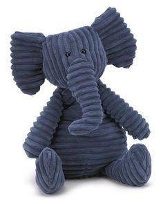 Cordy Roy Elefant Breitcord Kuscheltier von Jellycat - Bonuspunkte sammeln, Kauf auf Rechnung, Blitzlieferung per DHL!