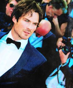 "Ian Somerhalder at the premiere of ""Youth"" during the 68th annual Cannes Film Festival on May 20, 2015"