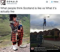 And finally, on Scotland itself: | The 20 Funniest Scottish Tweets Of 2016