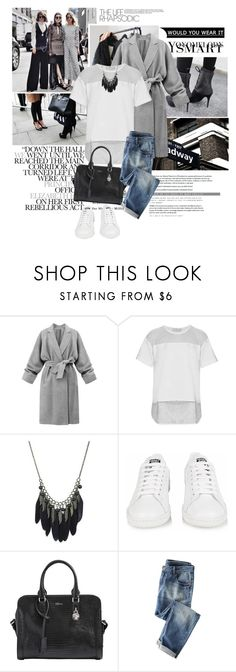 """""""Bright"""" by emeliet ❤ liked on Polyvore featuring Zimmermann, Prada, Karl Lagerfeld, adidas and Alexander McQueen"""