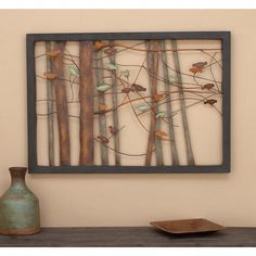 """Outstanding """"metal tree wall art decor"""" detail is readily available on our internet site. Read more and you wont be sorry you did. Tree Sculpture, Wall Sculptures, Iron Wall Decor, Wall Art Decor, Feng Shui, Metal Tree Wall Art, Metal Art, Metal Birds, Colorful Wall Art"""