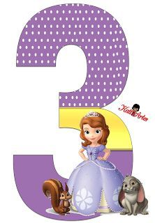 You are invited to come celebrate with us Princess Sofia Birthday, Sofia The First Birthday Party, Happy Birthday Flower, 3rd Birthday Parties, Princess Sophia Cake, Sophie The First, Sofia The First Characters, Fete Emma, Mickey Mouse Parties
