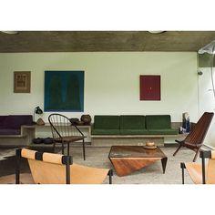La maison de Julio Roberto Katinsky, architecte Brésilien Un bijou moderniste à découvrir sur le blog miluccia.net #modernisme #bresil #brasillovers #katinsky #juliokatinsky #modernismo #miluccia photo #ricardolabougle